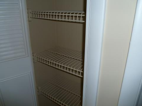 closet for dining utensils